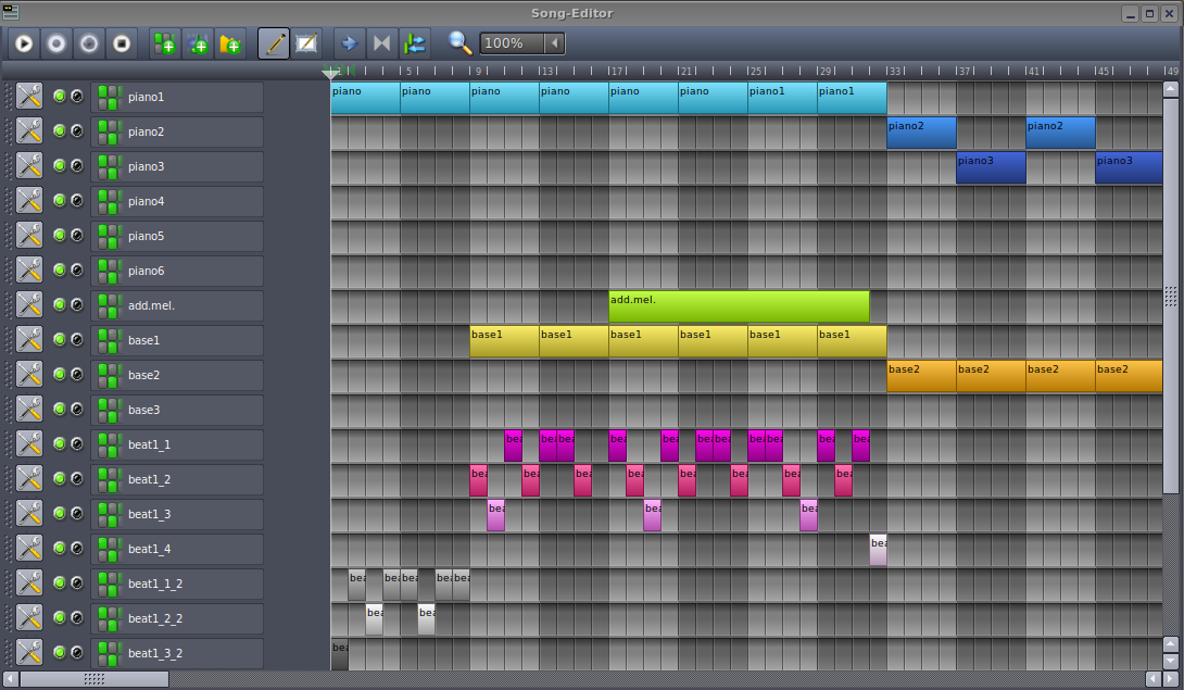 LMMS (Linux MultiMedia Studio) for Mac OS X full screenshot