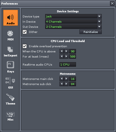 Renoise For Linux | Linux Journal