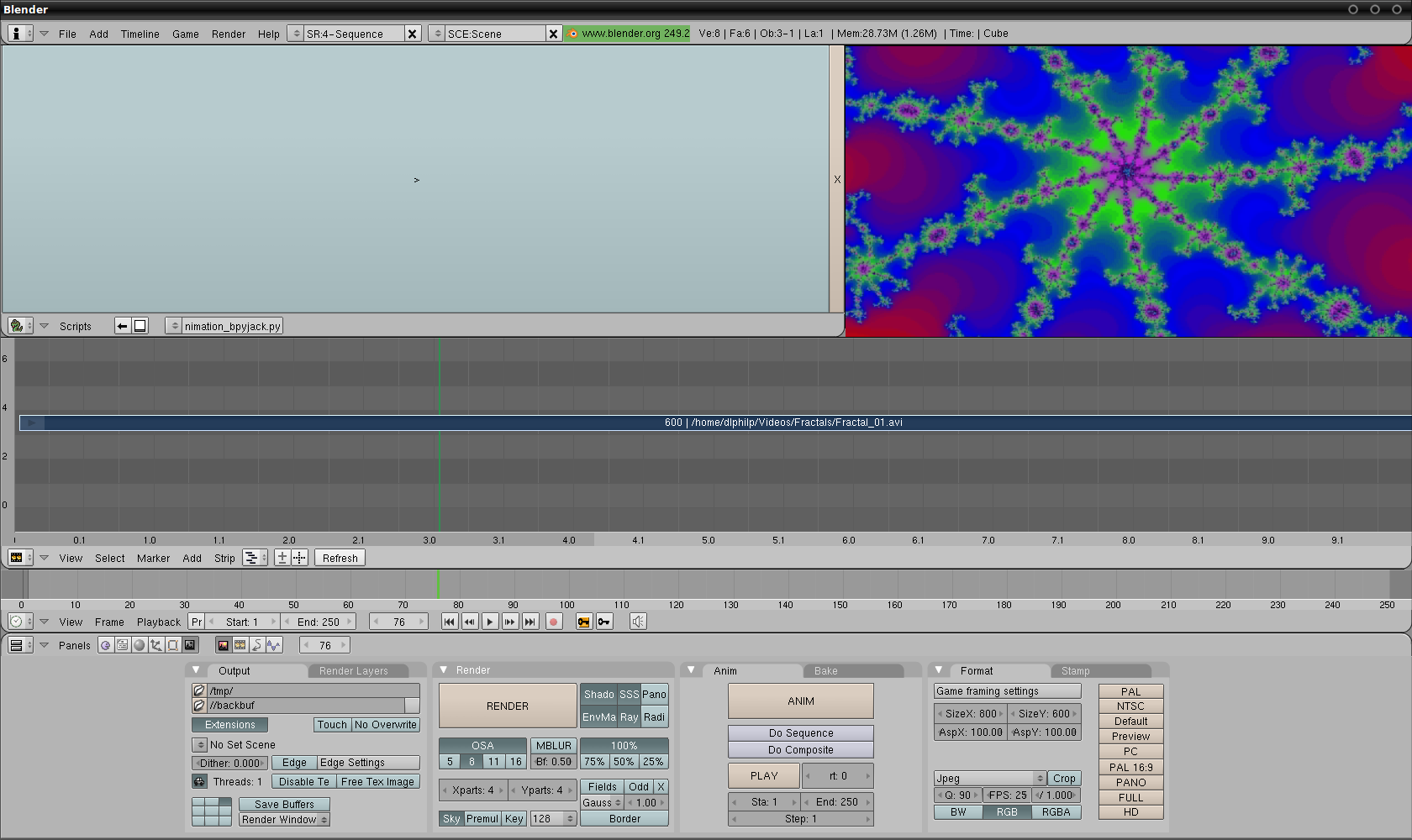 OpenMovieEditor And Blender: More NLE Delights | Linux Journal