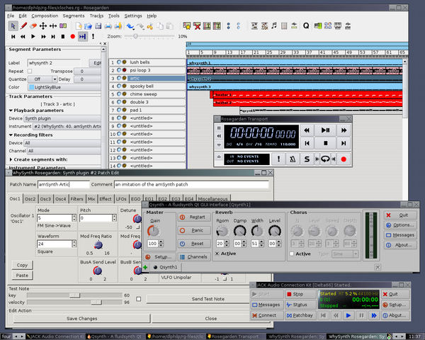 News And A Review: LAC2007 & Rosegarden 1 5 | Linux Journal