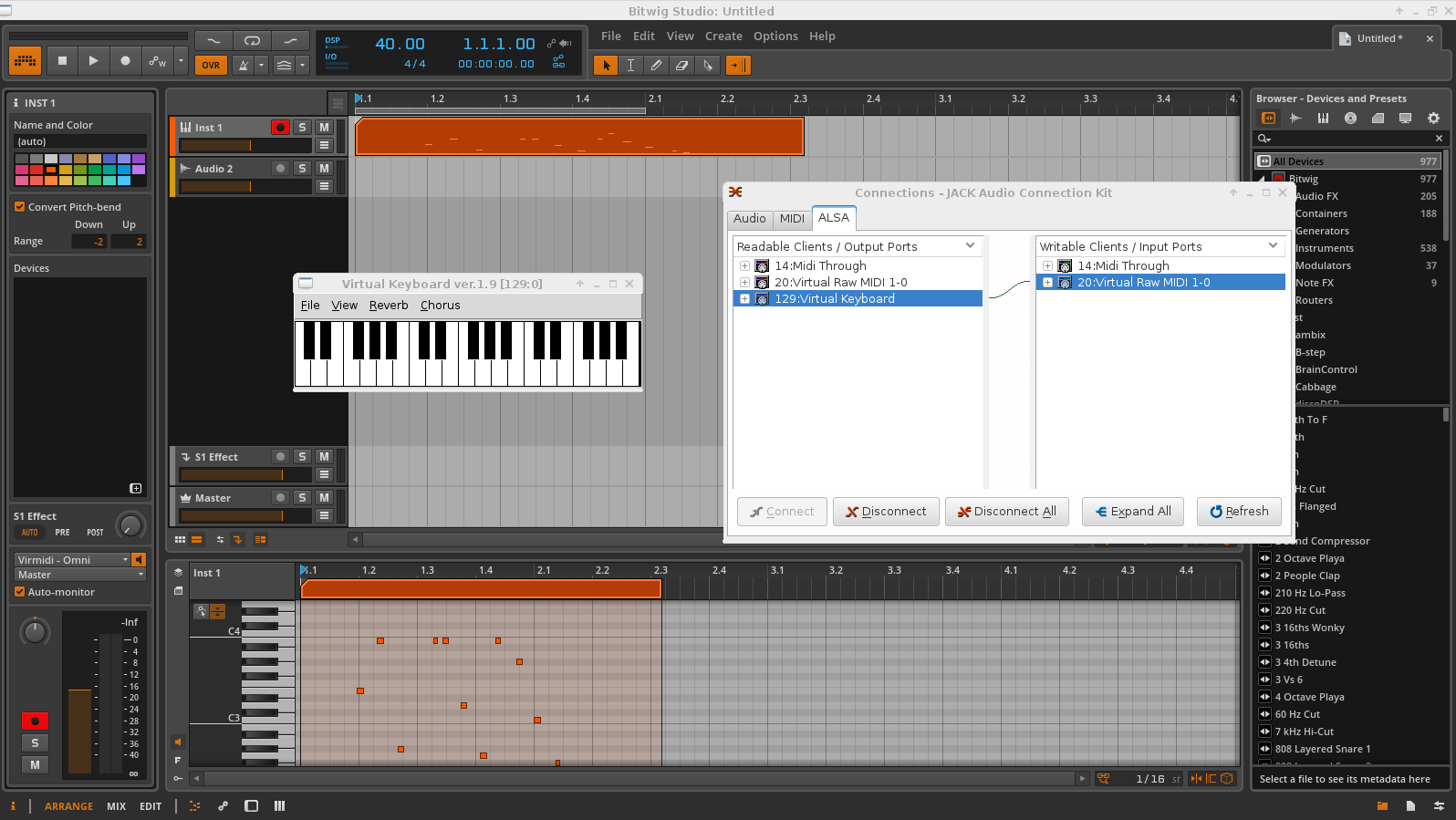 native VST synths/other plugins for Linux ? UPDATE 4/15/2015